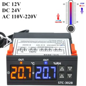 STC3028 Temperature and humidity controller