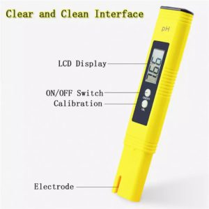 Digital PH Meter Water Tester