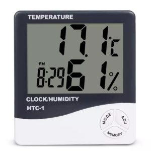 HTC-1 Thermometer hygrometer for room or brooder