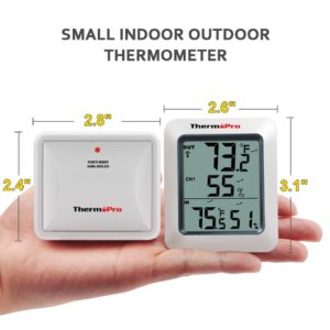 TP60S indoor Outdoor thermometer and hygrometer